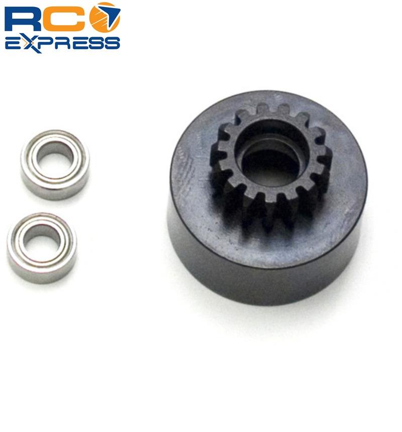 Tekno R//C TKR4125 1//8 Clutch Bell 15T Mod1 Hard Steel w//Bearing