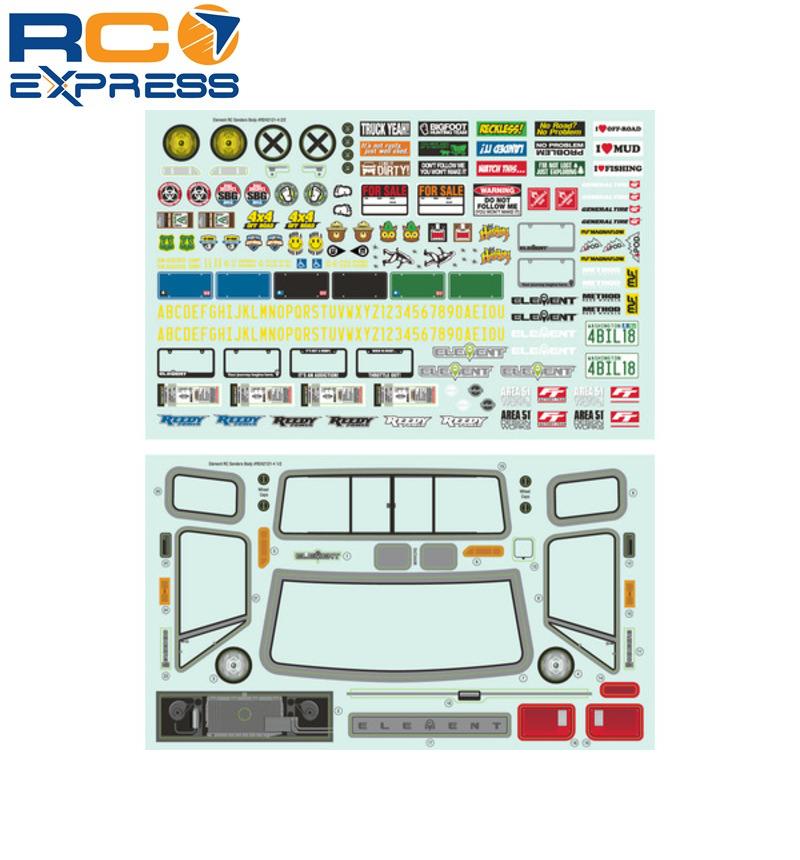 Associated 42242 Trailrunner Decal Sheet