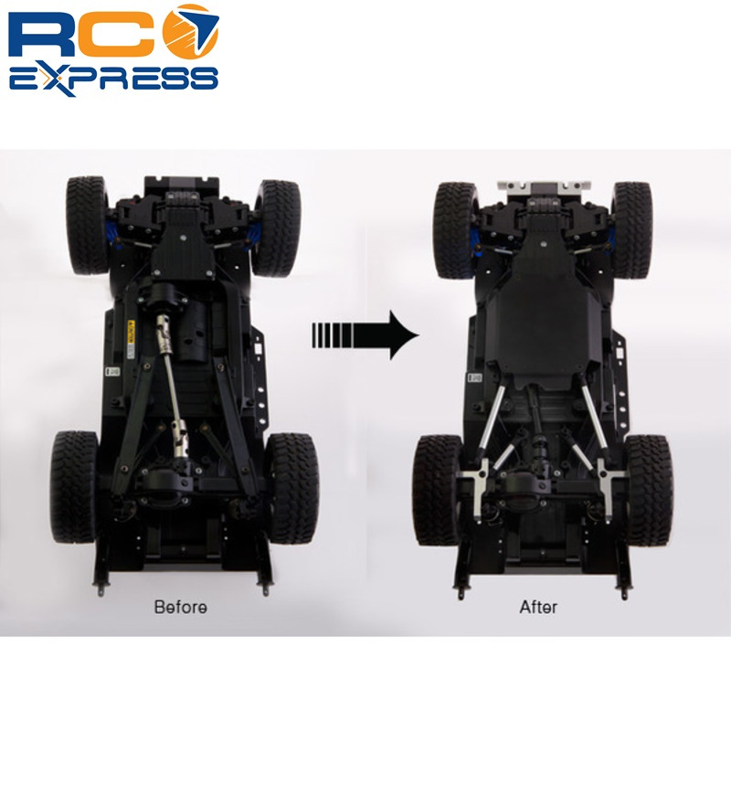 Cc01 4-link Suspension Conversion With Skid Plate Junfac