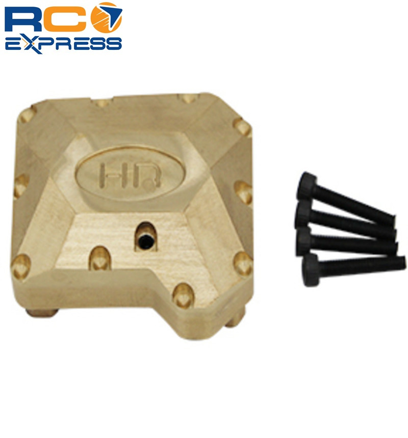 Metal Brass Axle Diff Cover For Traxxas TRX-4 Axle TRXF12CH01 Differential Cover
