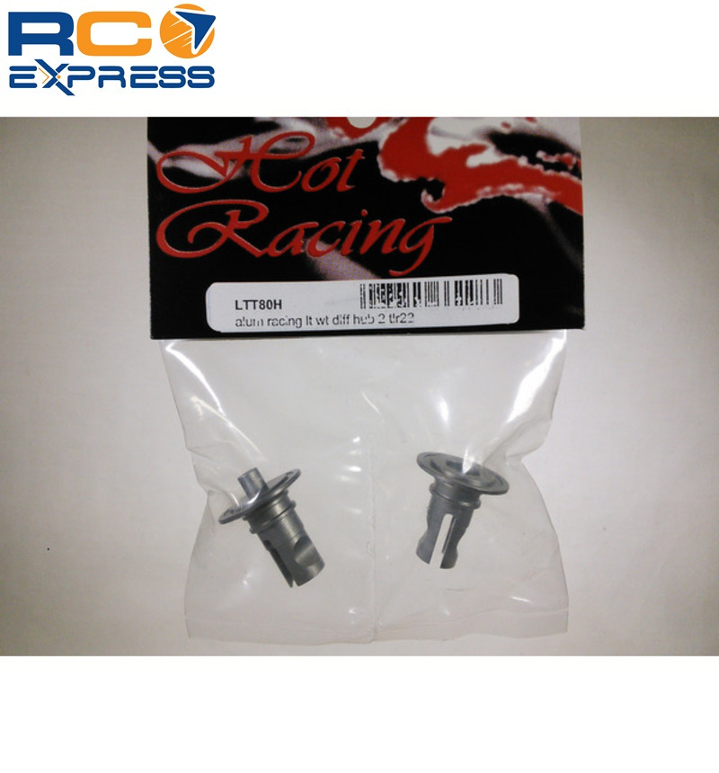 Losi TLR 22 2wd Buggy 22T 22SCT Aluminum Light Weight Diff Hubs LTT80H