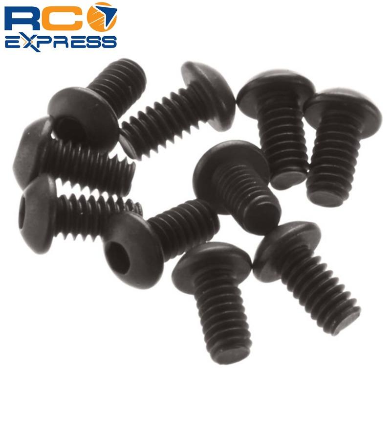 AX31146 Axial Hex Socket Button Head Screw M2x4mm Black 10