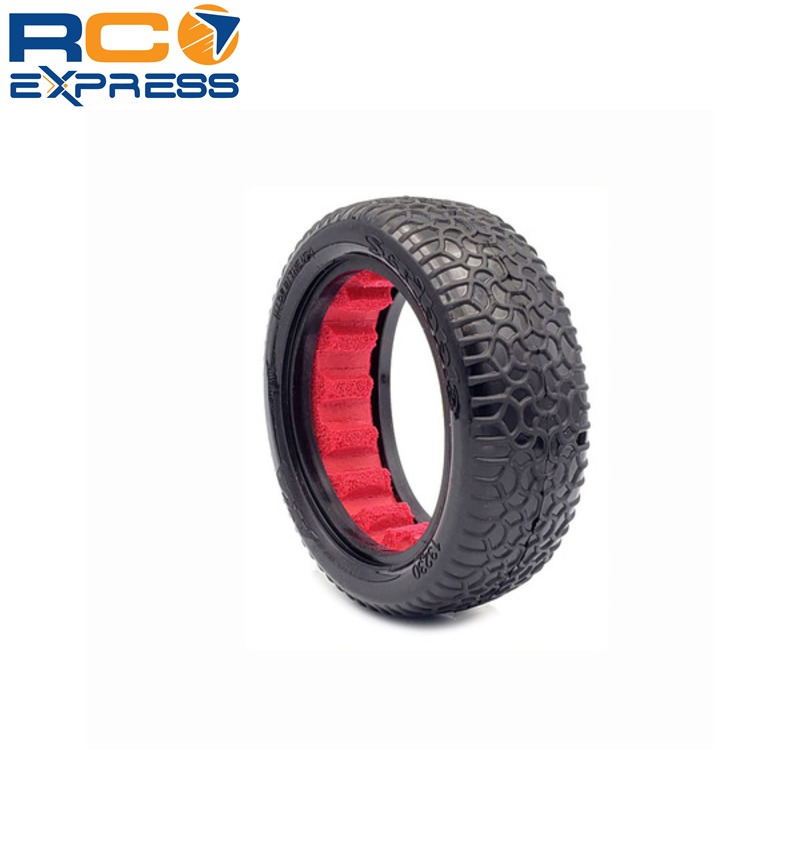 AKA Racing 1:10 Buggy Scribble 2.2 2WD Front Ultra Soft:Red AKA13230WR