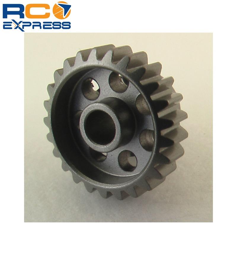 Hot Racing HAG825 25t 48p Hard Anodized Aluminum Pinion Gear 1//8 Inch Bore