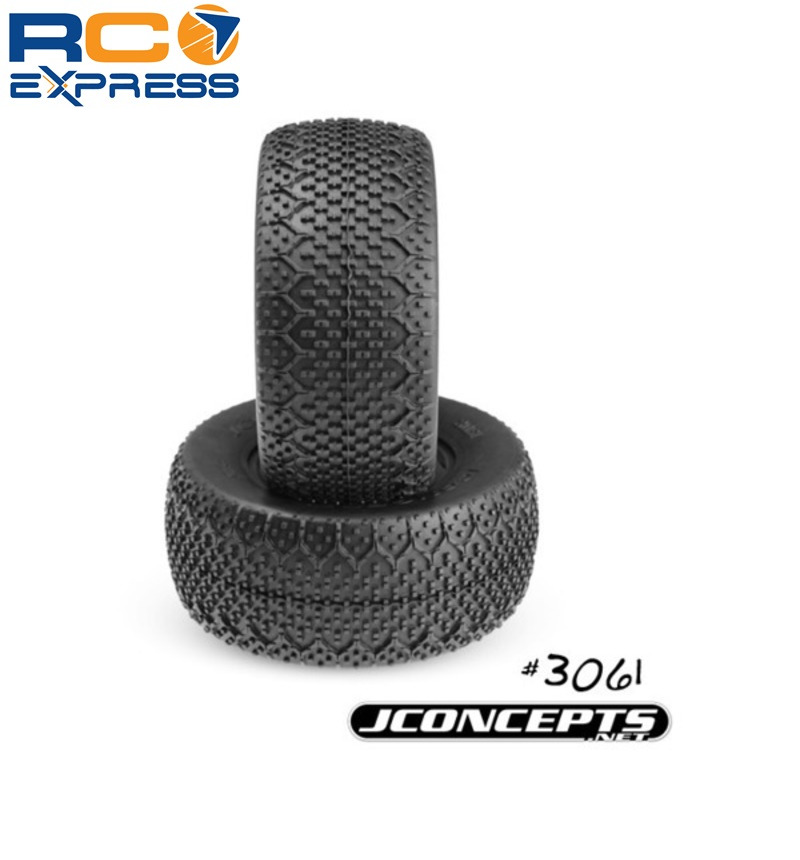 JConcepts 3061-02 3ds Sct 3.0 X2.2 Tires Green Super Soft