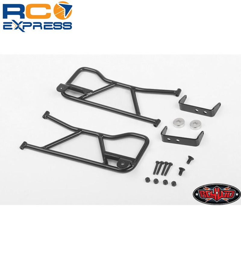 Details about RC 4WD Tube Front Doors for 1985 Toyota 4Runner Hard Body  RC4VVV-C0761