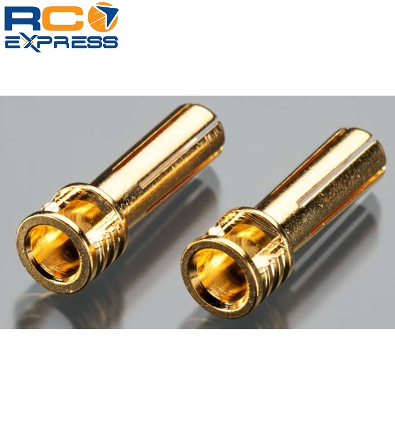 TQ Wire 2508 5mm Bullet Connector 6-Point Flat Top