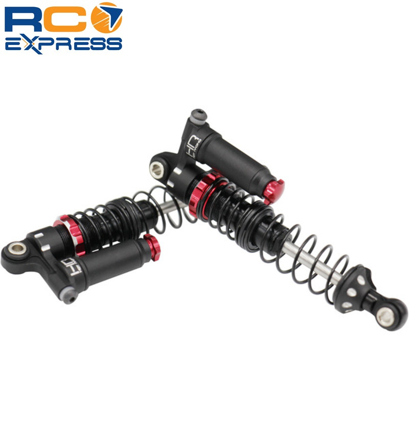 Hot Racing TD80RV02 80mm Aluminum Piggyback Shocks Adjustable Cars, Trucks & Motorcycles
