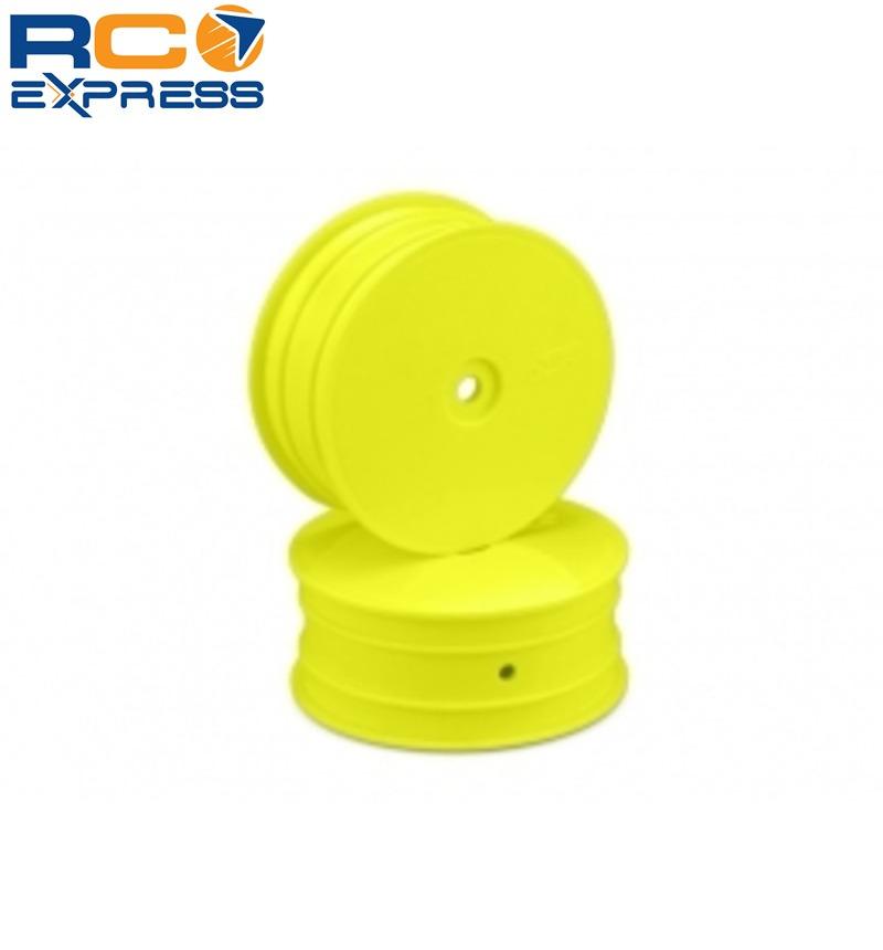 JConcepts 3326Y Mono Rear Wheels Yellow 4 TLR 22
