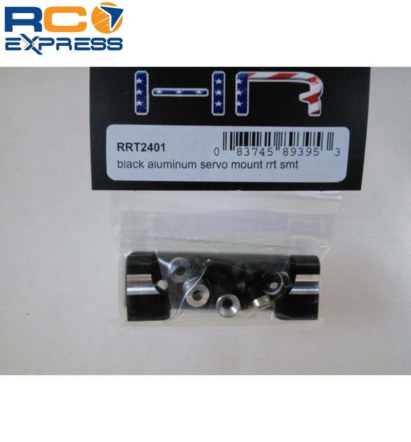 Hot-Racing RRT2401 Black Aluminum Servo Mount Axial AX10//RR10//SMT10//Wraith