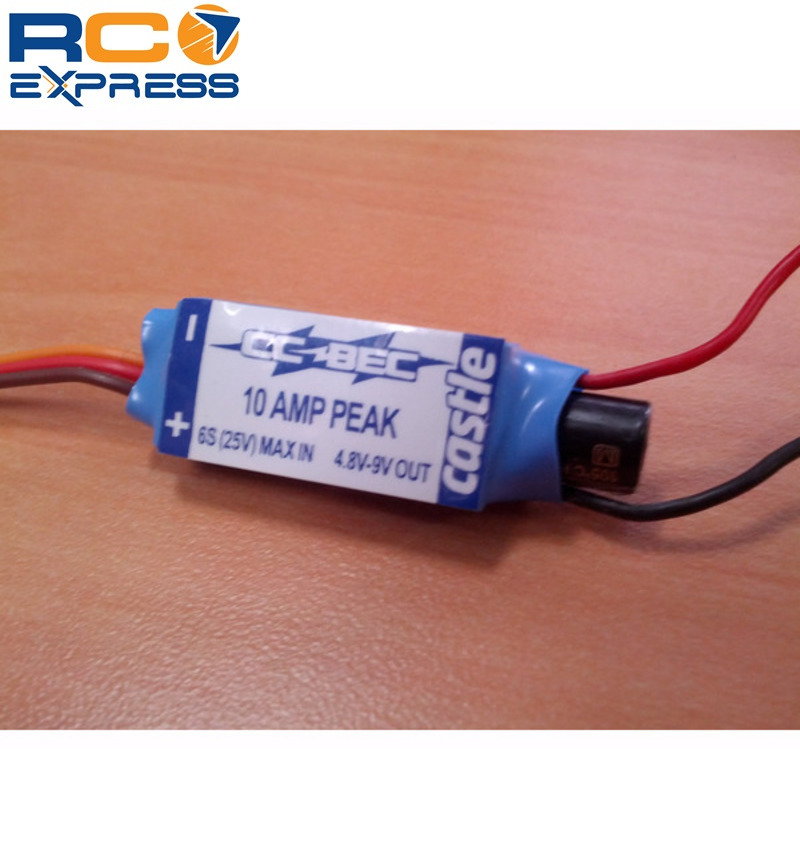 Castle Creations M0005 Bec 10a 6s Switching Regulator CSE010-0004-00