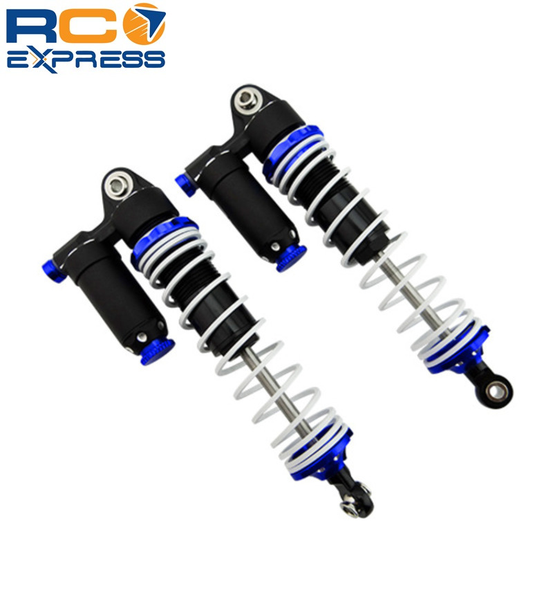 X Spede Adjustable Aluminum Piggyback Shocks 100mm