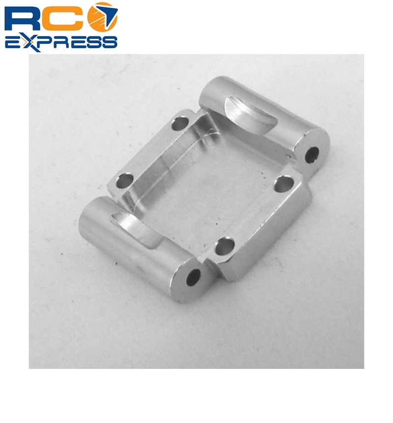 Losi 1//36 Micro-t Silver Hot Racing MCT0308 Aluminum Wide Front Bumper